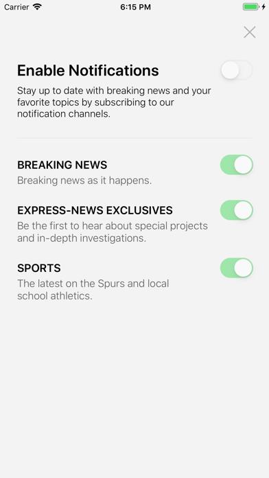 SA Express-News Screenshot