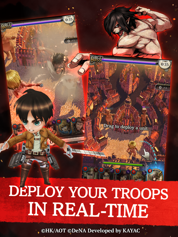 Attack on Titan TACTICS screenshot 10