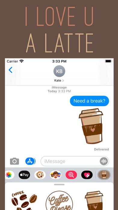 Coffee Hour Stickers screenshot 2