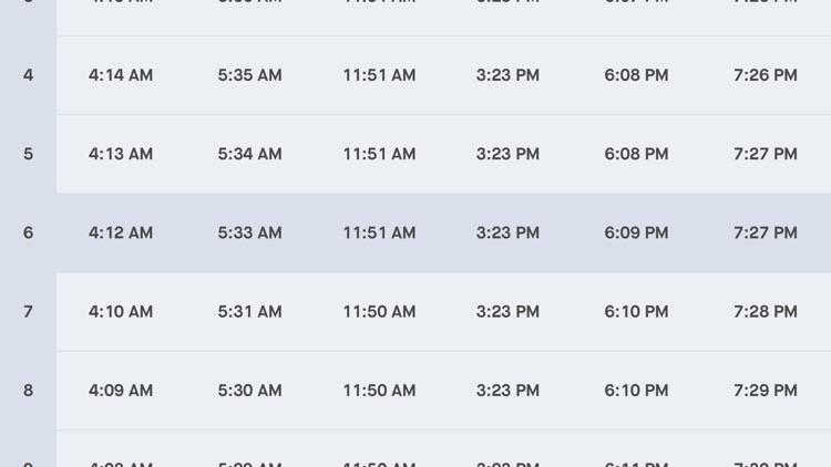 Kuwait Prayer Times screenshot-3