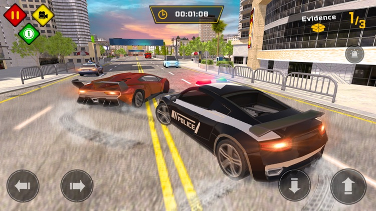 Police Car Chase Games 2020