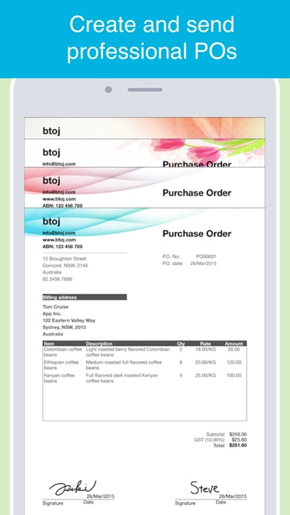 Purchase Order Maker - POs