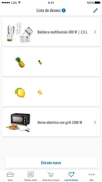 Lidl - Tienda online - Ofertas screenshot-3