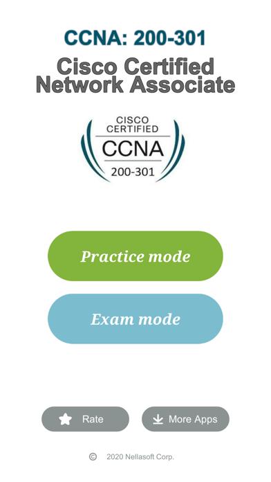 Cisco CCNA 200-301 Exam screenshot one