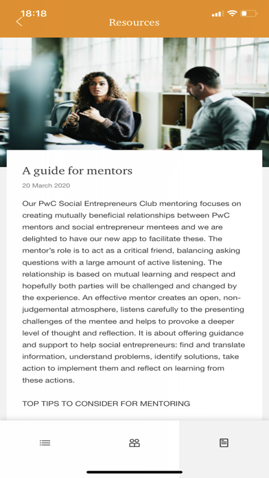 Social Entrepreneurs Club screenshot 3