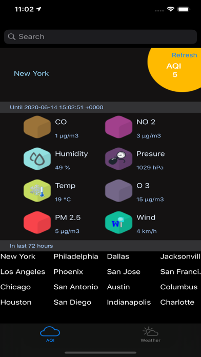 Instant Air Quality Pro screenshot 1
