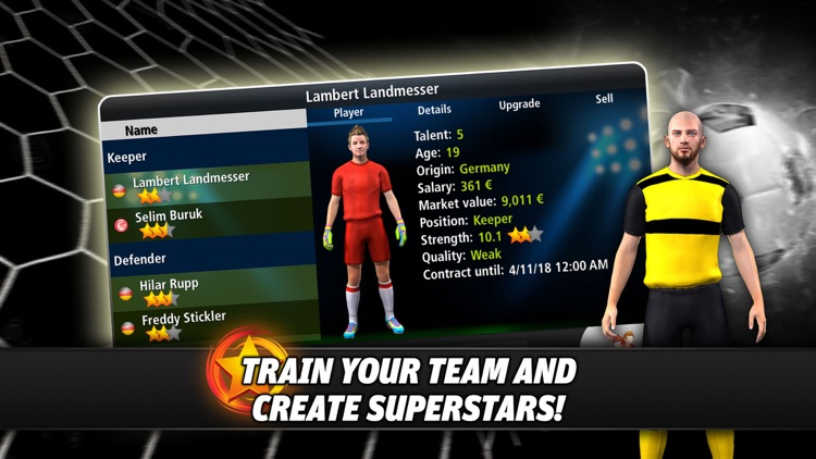 Goal Tactics - Football MMO screenshot-1