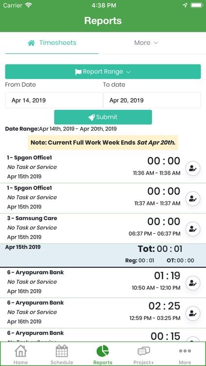 Timesheet Mobile™ screenshot-5