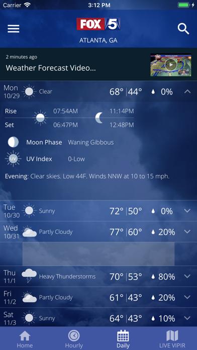 FOX 5 Storm Team Weather Radar by New World Communications
