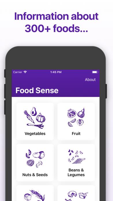 Food Sense Guide Screenshot