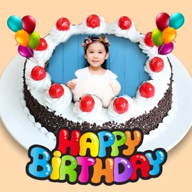 Excellent Bday Video Maker Wishes Cards On The App Store Itunes Apple Personalised Birthday Cards Xaembasilily Jamesorg
