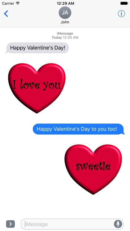 Valentine's Day Stickies