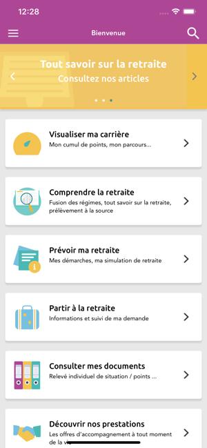 App Store Smart Retraite
