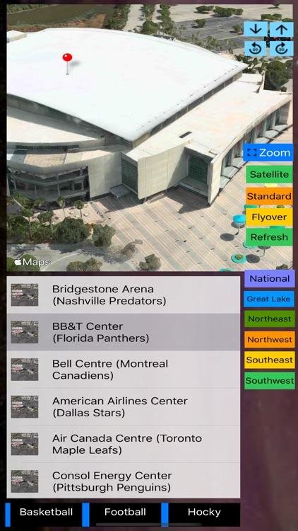 Sport Stadiums Pro - 3D Cities screenshot-8