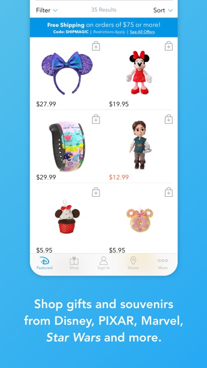 Shop Disney screenshot-2