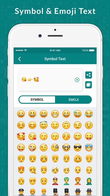 Style Text & Fancy Font Maker screenshot-4