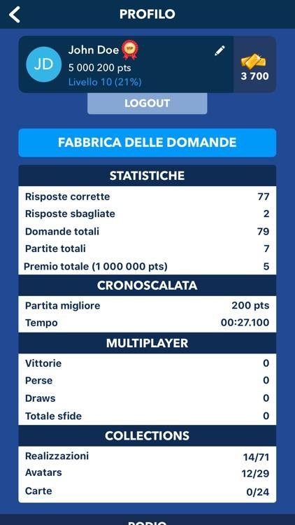 Quiz Cultura Generale Italiano screenshot-7
