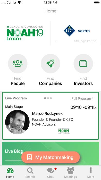 NOAH Connect screenshot two