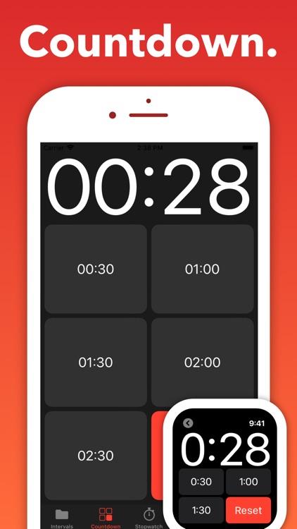 Seconds Pro Interval Timer screenshot-3