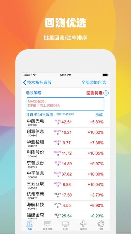选股助手-公式选股软件,股票开户 screenshot-4