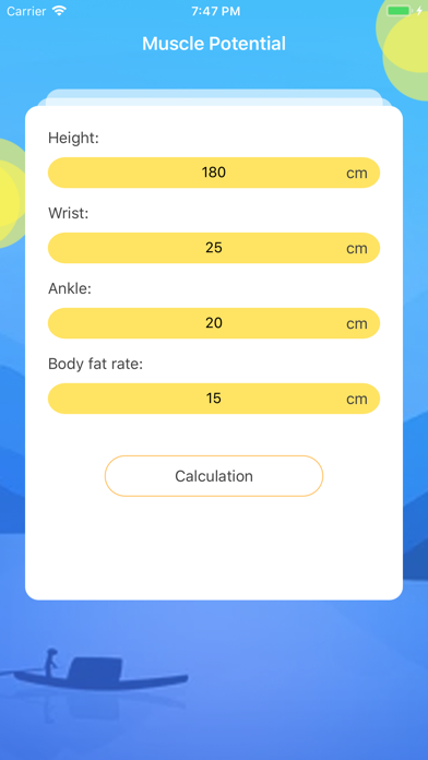 Muscle Potential-Calculation screenshot 1