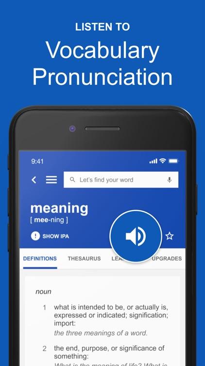 Dictionary.com: English Words screenshot-3