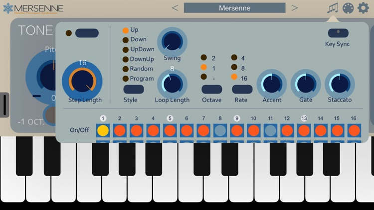 Mersenne Synthesizer