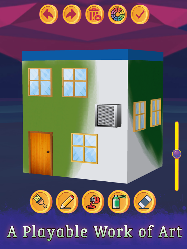 ‎House Paint 3D - Home Coloring Screenshot