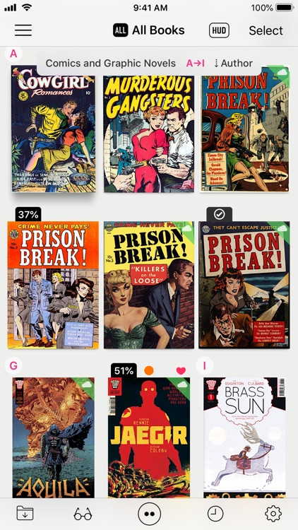 Booklover - comic/ebook reader screenshot-0