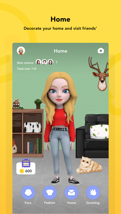 Download Boo - 3D Avatar & AR Chat for Pc