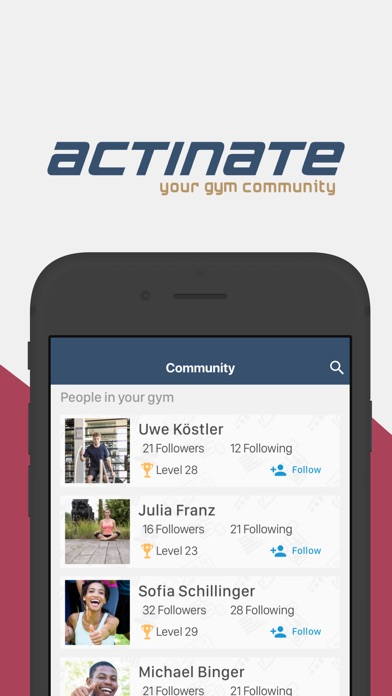 SmartGym powered by actinate screenshot #2