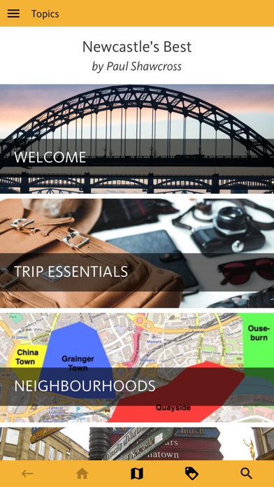 Newcastle's Best: Travel Guide screenshot 1