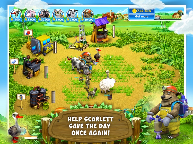 Farm Frenzy 3: Village HD screenshot-2
