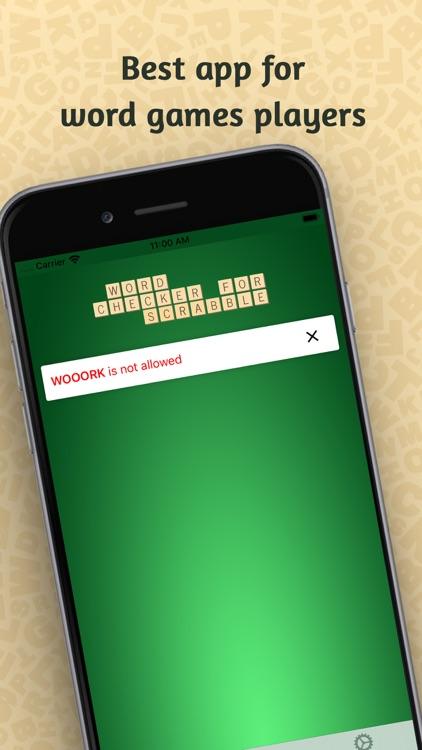 Word Checker for SCRABBLE® screenshot-3