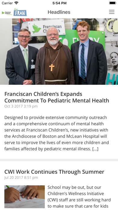 Download TheFRAN--Franciscan Children's for Android