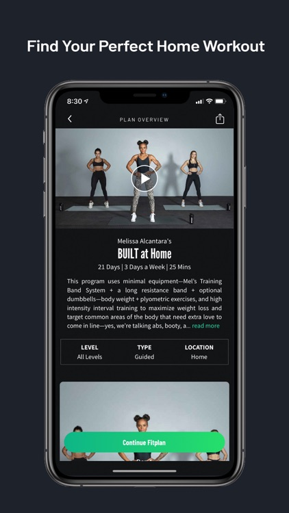 Fitplan: Gym & Home Workout screenshot-0