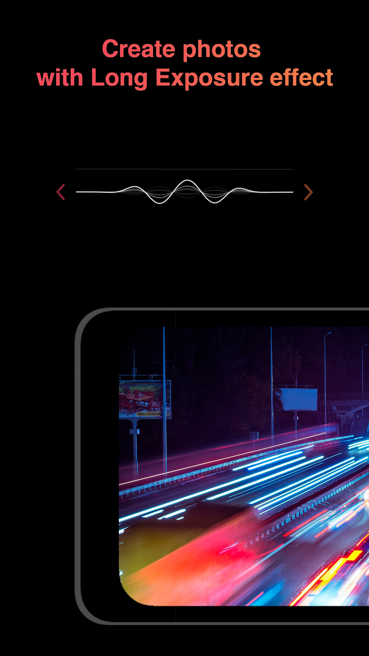 Screenshot do app Light | Long Exposure