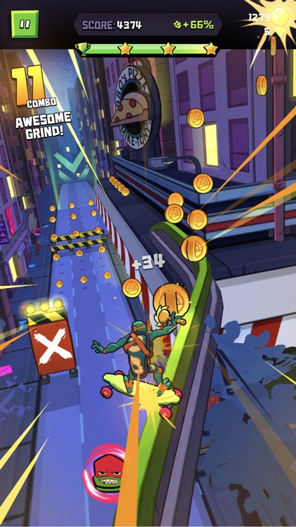 Rise of the TMNT: Ninja Run screenshot-4