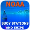 NOAA Buoy Stations & Ships Sea