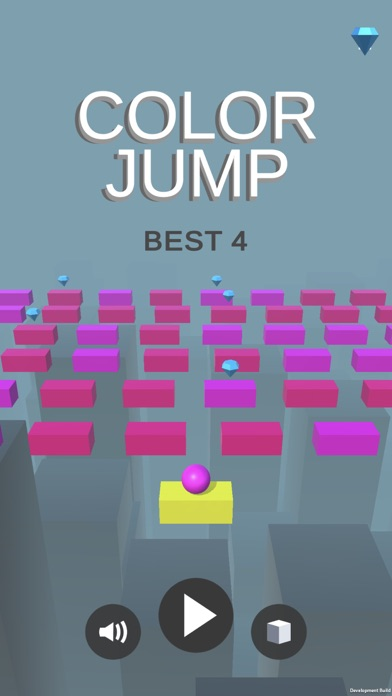 Screenshot for Color Jump Space in United States App Store