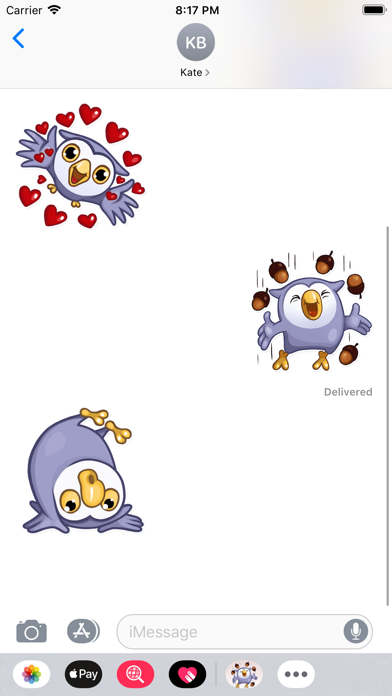 Owlet Stickers - fc Screenshot