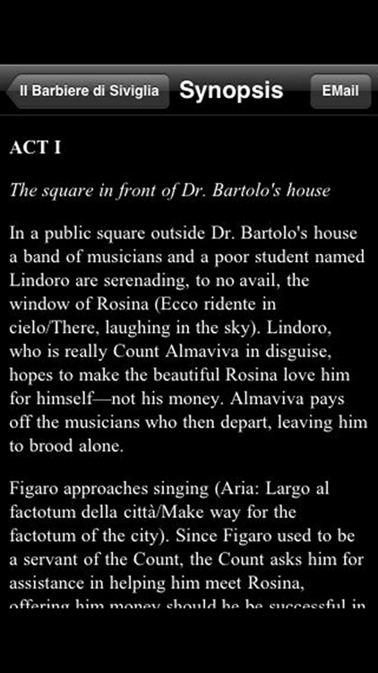 Opera: The Barber of Seville screenshot-3