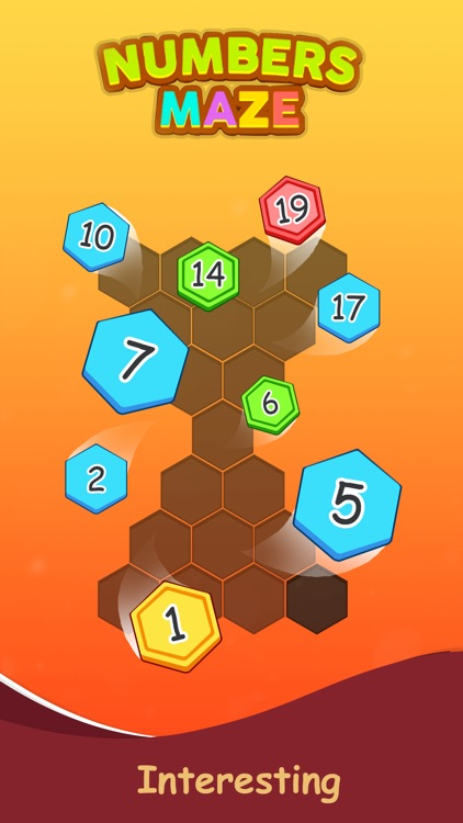 Numbers Maze Puzzle screenshot-3
