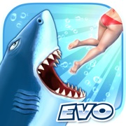 Download Game Game Hungry Shark Evolution v7.0.1 MOD FOR IOS | UNLIMITED COINS | UNLIMITED GEMS APK Mod Free
