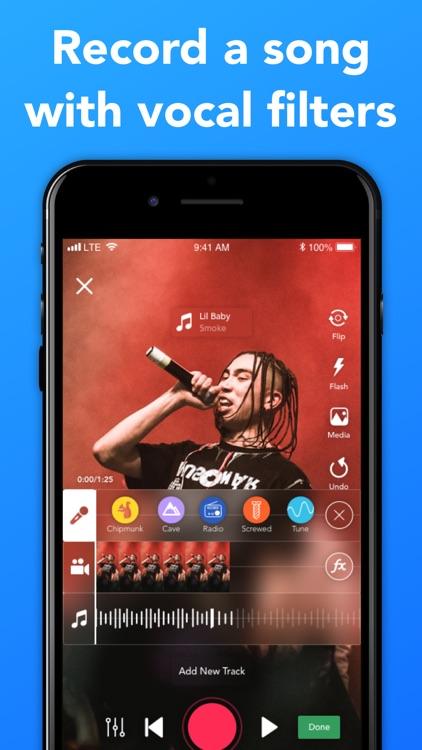 Rapchat: Music Video Studio screenshot-3