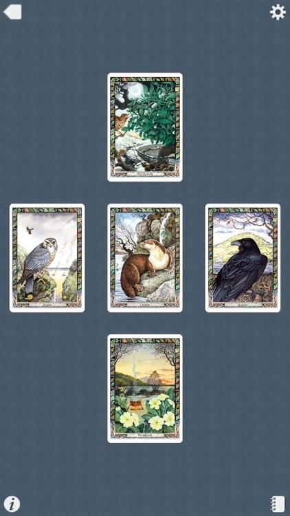 Druid Oracle Cards screenshot-4