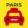 Fabrice Rabarijaona - パリのタクシー乗り場 アートワーク
