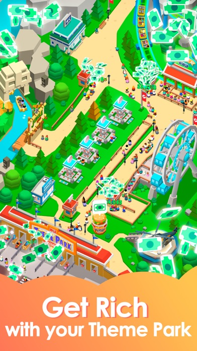 Idle Theme Park - Tycoon Game Screenshot 2