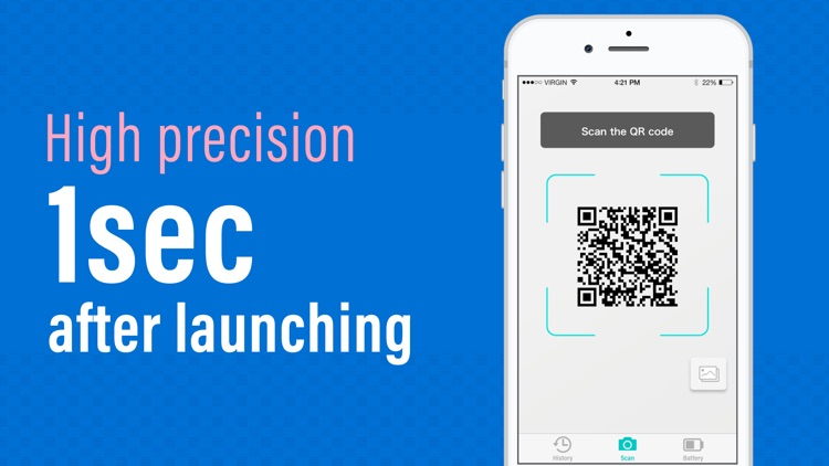 QR Code Reader for iPhone .