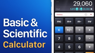 Screenshot for Calculator HD in Kazakhstan App Store